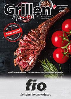 Info-Broschüre Grillen Spezial 2018